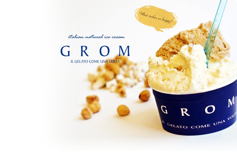 The Grom Persuasion Of Ice Cream